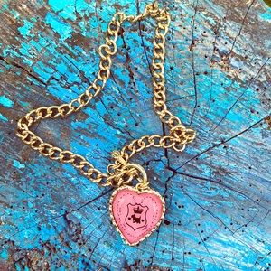 Juicy Couture Heart Necklaces